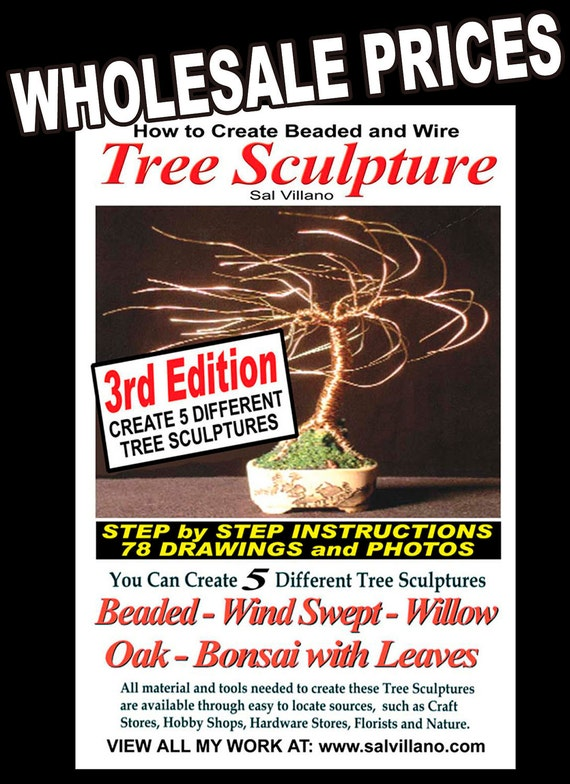 How To Create Beaded & Wire Tree Sculpture WHOLESALE