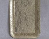 vintage gold lace patterned tray