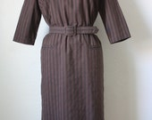 Reserved for smarty11234 Chocolate vintage dress M/L