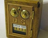 Post Office Box Door 1885 Bank Safe