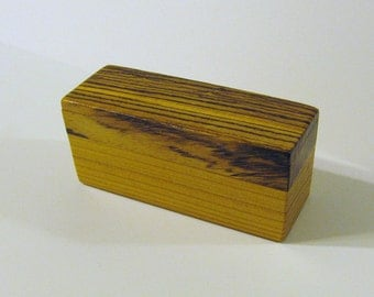 Trinket Box Made Of  Two Woods