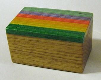 Treasure Box With Laminated Wood Top