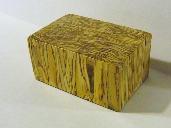 Treasure Box With Parallam Wood