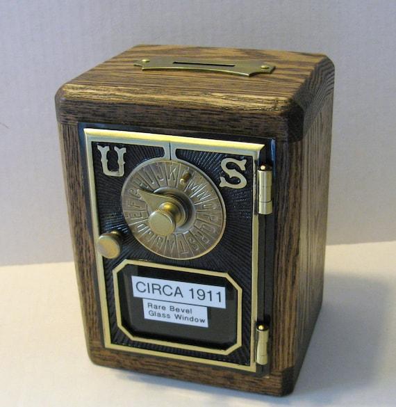 Post Office Box Door Bank Safe CIRCA 1911 Door Bevel By