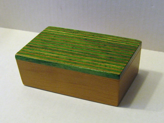 Treasure Box Made Of Two Woods