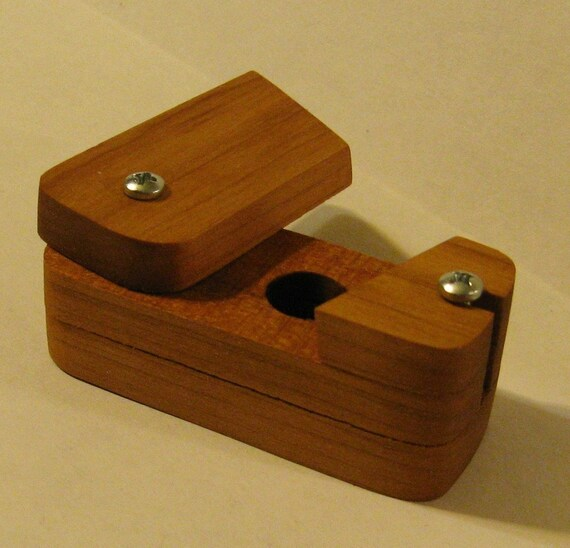 Two Amazing Coin Puzzle Boxes Made Of Cherry Wood RESERVED