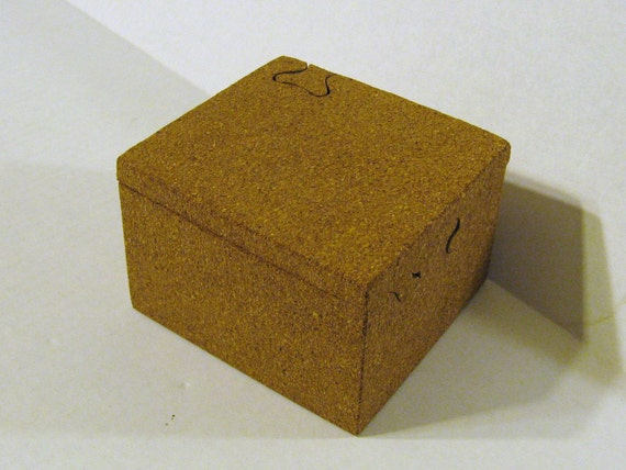 Puzzle Box Made Of Cork