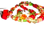 RESERVED for jackfishlake \/ autumnal necklace with lagniappe