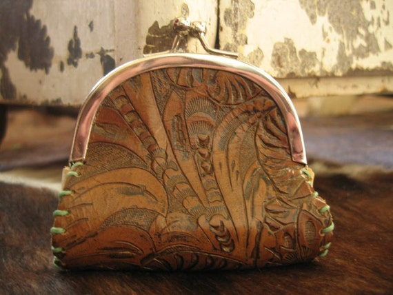 tahlulla leather snap coin purse