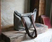 Recycled Canvas Tote Bag