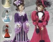 Victorian Ladies Fashion Crochet Book