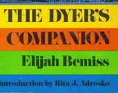 The Dyer's Companion Book 1973