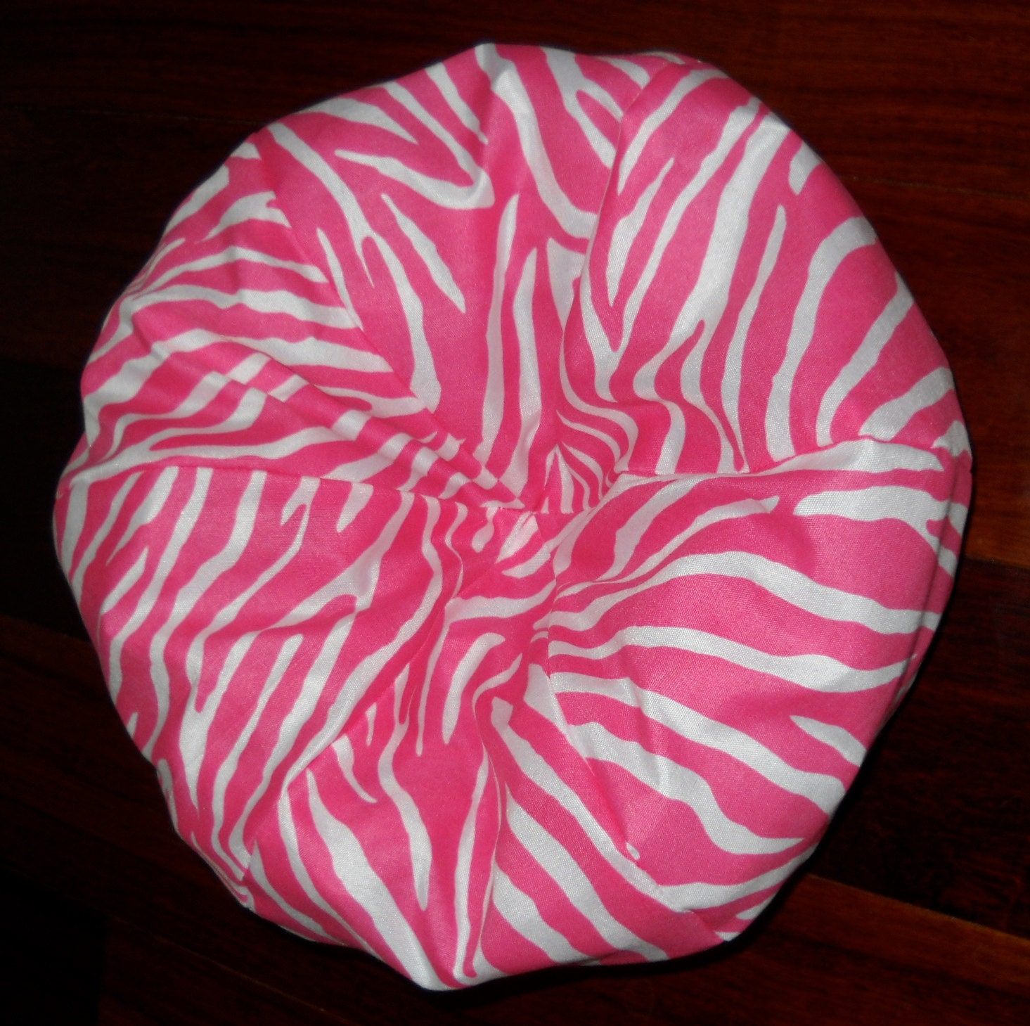 PINK Zebra Print Bean Bag Chair For 18 Inch By