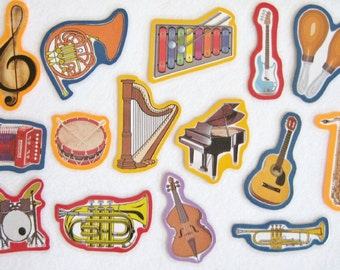Musical Instruments Felt Board Flannel Board Set