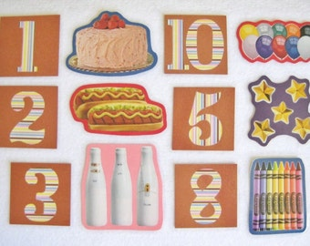 Felt Board Number Matching Set, Flannel Board Numbers, Homeschool Preschool, Counting Numbers, Teachers Resource