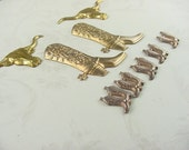 SOUTHWEST COLLECTION (9 PIECES) BRASS STAMPINGS