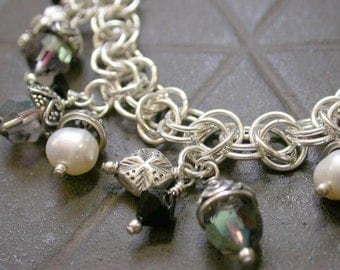 Tutorial - Orbital Chain Maille Charm Bracelet - Tutorial Only - Instant Download