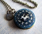 Zodiac Jewelry, Sagittarius Locket