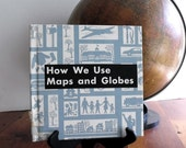 Vintage Book Maps and Globes