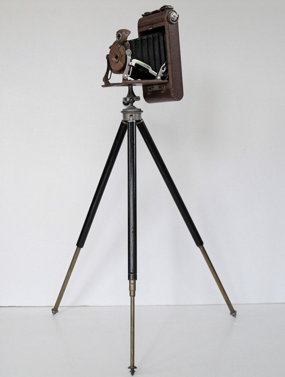 Vintage Kodak Kodo Pocket Camera And Tripod