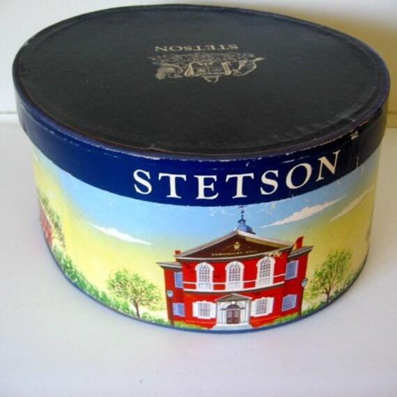 Vintage Stetson Hat Box Sale