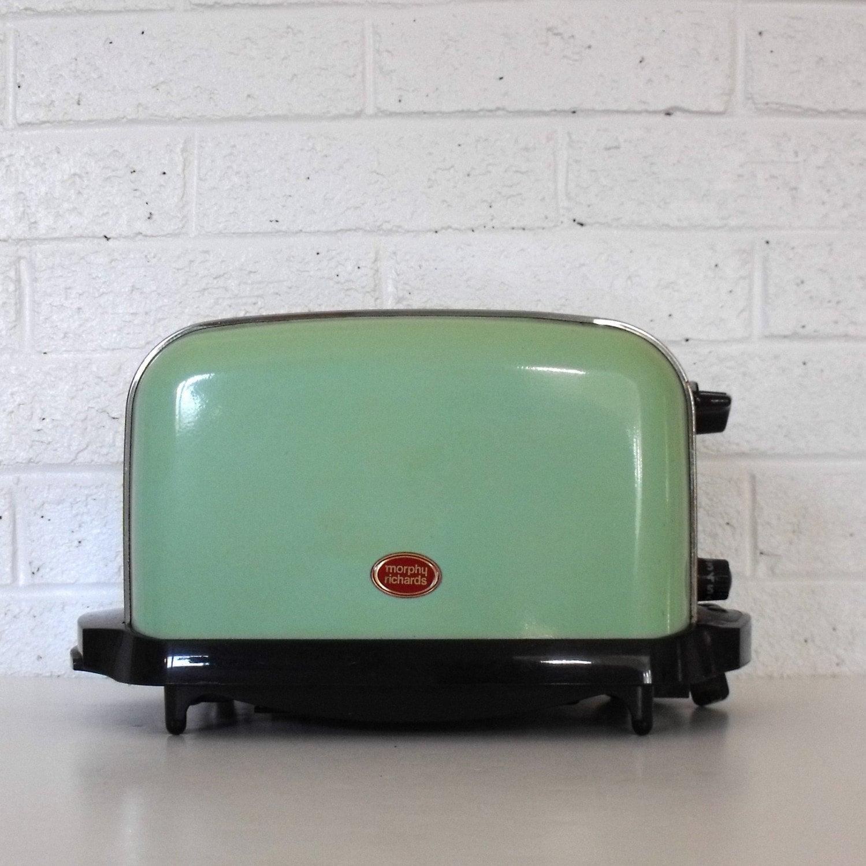 Retro Jadite Green Toaster