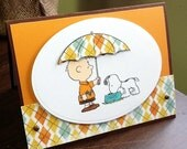 Snoopy friends card