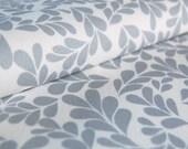 organic cotton denim fabric remnant - BOXWOOD METRO - 25'' x 25''