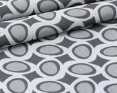 SALE - LAST PIECE 88in - organic cotton fabric by Daisy Janie - River Rock