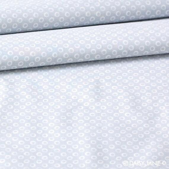 SALE organic cotton fabric by Daisy Janie - 1/2 YARD - Dapple Dot