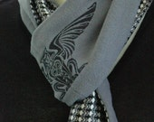 Cashmere and silk scarf....... Great gift for the men in your life.