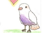 Love Bird ACEO Print
