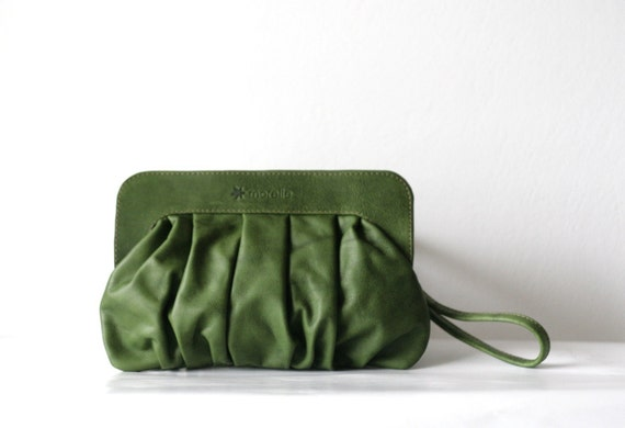 Pochette in Forest Green - January SALE