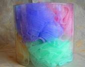 Set of Six Bath Puffs