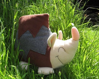 Nelly the Hedgehog PDF Sewing Pattern