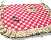 handmade retro cupcake apron - EAT ME - smarmyclothes