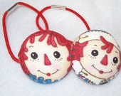 Raggedy Ann and Andy Hair Ties