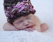 Newborn Baby Girl Hat Photography Prop Criss Cross Beanie Baby Boy Hat Toddler Hat Basket Weave Kids Hat TrickyKnits