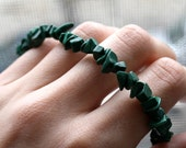 Malachite Bracelet . Dark Green Stone Bracelet . Green Beaded Bracelet . Malachite Jewelry . Natural Stone Bracelet - Green Acres Collection