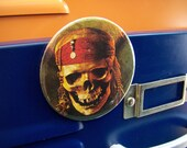 Pirates of the carribean  -   repurposed CD magnet