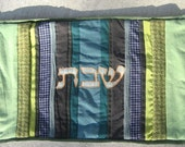 Custom Striped Challah Cover - reserved for Marcy