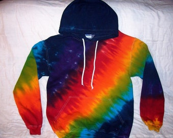 Tie Dye Pullover Hoodie in Custom Colors