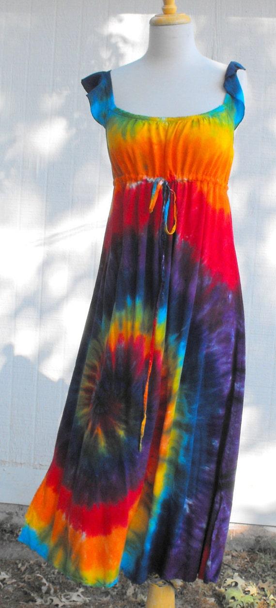 Tie Dye Classic Rainbow Swirl Regency Hippie by inspiringcolor