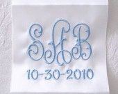 "Wedding Dress Label (3.65"" wide) OFF-WHITE"