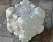 Companion Cube Soap - Cake scented ...no lie....