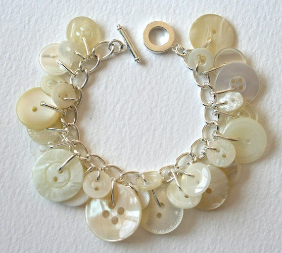 Button Bracelet Icy Pearl By Mrsgibson On Etsy. Platinum Bracelet. Mens Big Wedding Rings. Grand Seiko Watches. Bulk Bracelet. Green Stone Bangles. Philippines Wedding Rings. Thick Gold Bands. Pearl Diamond