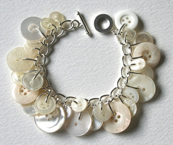 Ice Queen Button Bracelet