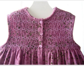 Lovely Purple Corduroy Jumper - 3 to 4 yr.