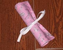 pretty pink shoes chalk mat