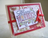 Vintage Victorian Stlye Mothers Day Note Card ON SALE NOW for 1.99